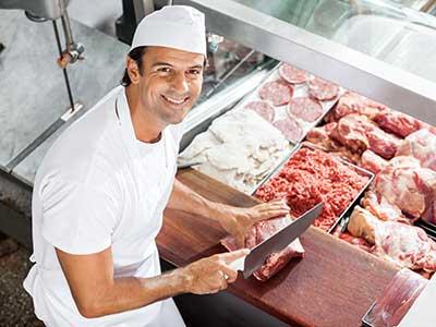 carne de manipulacion de alimentos