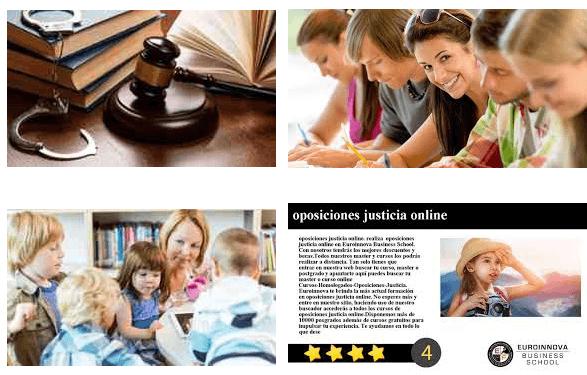 curso de oposiciones justicia gratis cursos online