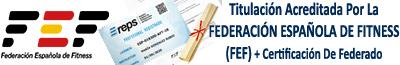 Curso homologado online por la FPEF