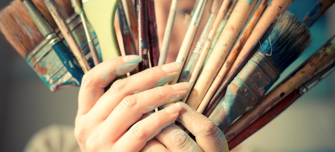 curso de pintura acrilica