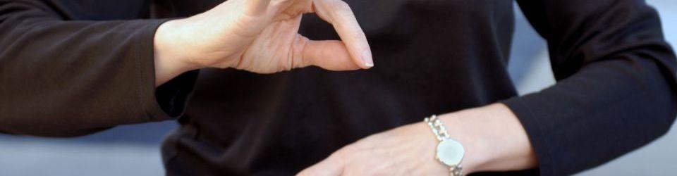 Cursos en Lengua de Signos